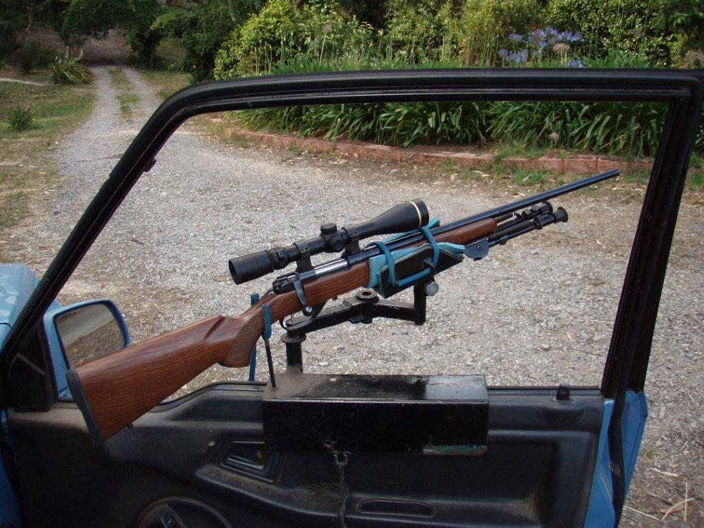 Experimental Spotlight Rig Enough Gun